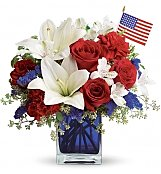 Flower Bouquets: America the Beautiful
