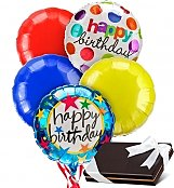 Balloons & Chocolate: Birthday Balloons & Chocolates-5 Mylar
