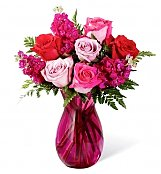 Flower Bouquets: Pure Romance Rose Bouquet