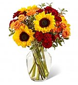 Flower Bouquets: Fall Frenzy Bouquet