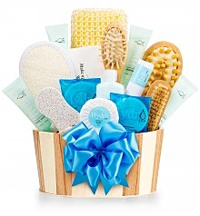 Spa Gift Baskets: Rest & Relaxation Spa Set