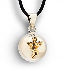 Gift Services Warehouse: Remembrance Chiming Angel Charm