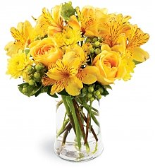 Flower Bouquets: Send a Smile Bouquet